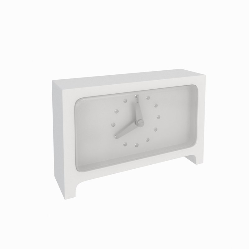 desk clock 3ds