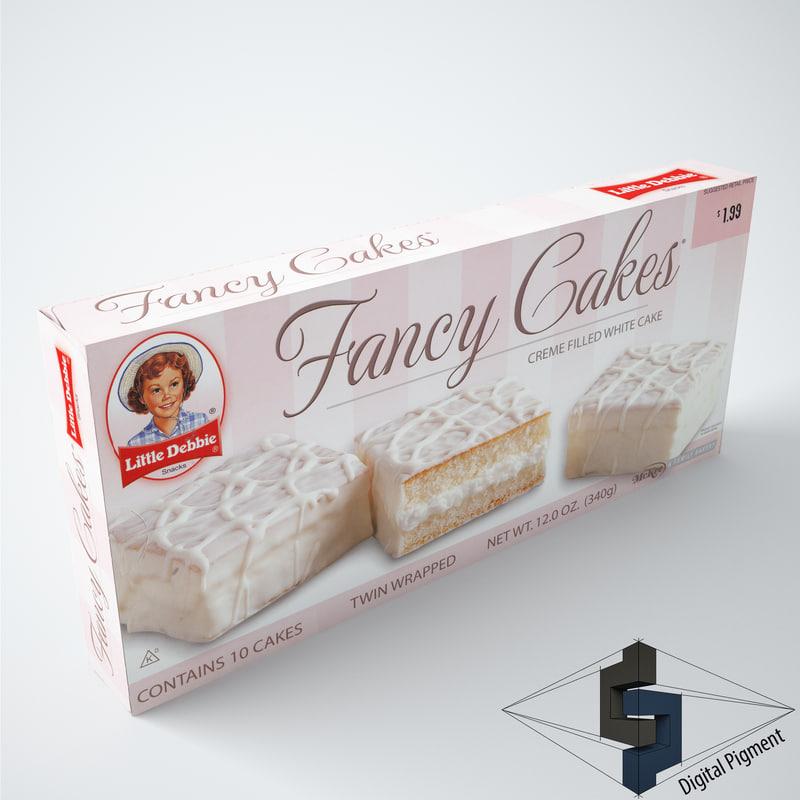 3ds little debbie fancy cakes