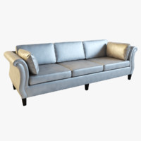 sofa scroll arm design 3d model