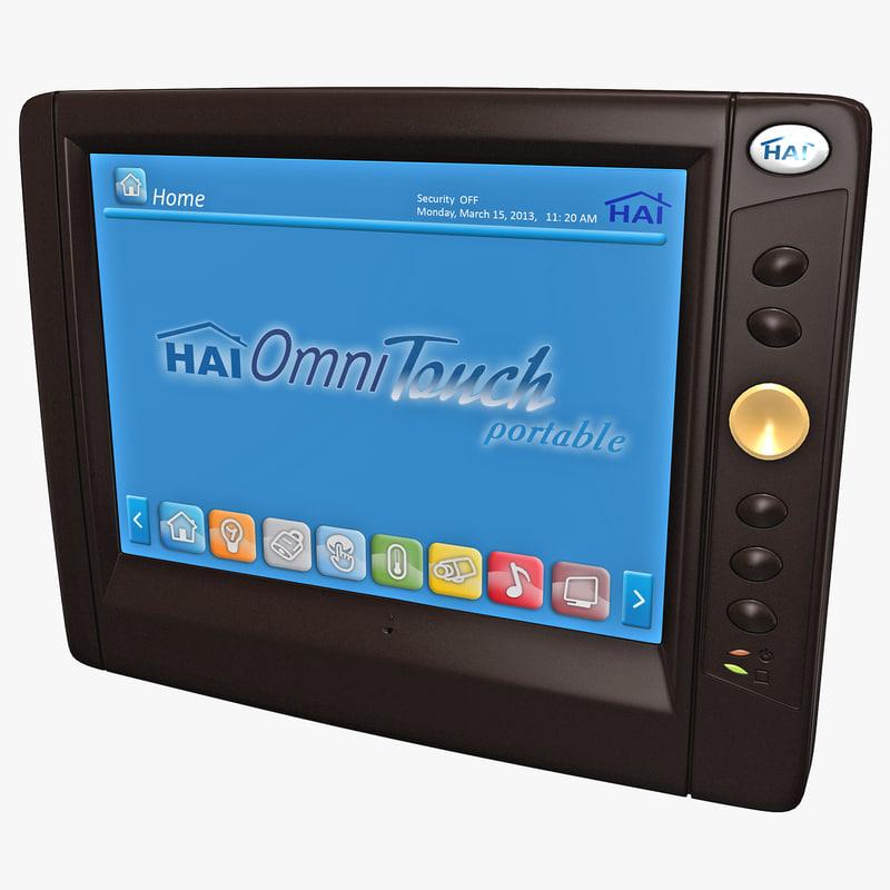 3d model home automation control hai