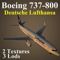 max boeing 737-800 dlh