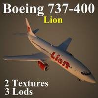 3d model of boeing lni