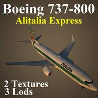 boeing 737-800 aza 3d model