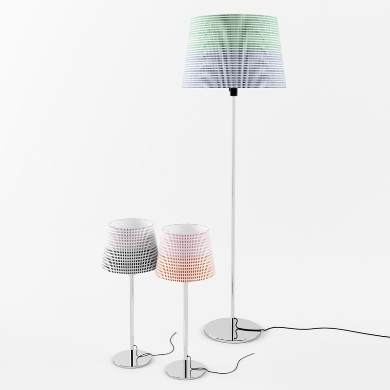 3ds max ikea jalsta lamp