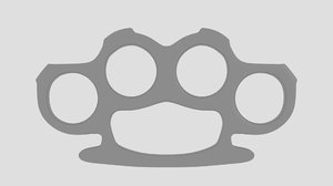 3d model knuckle duster