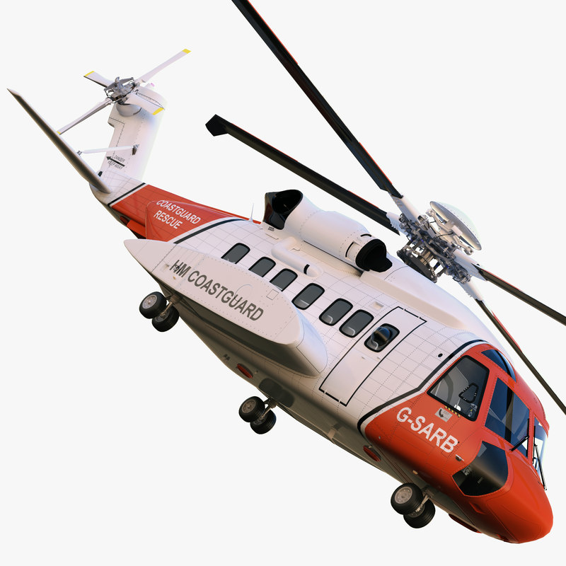 3ds max sikorsky s-92