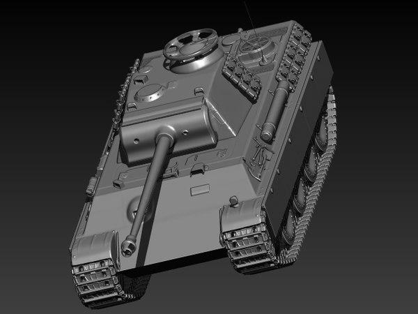 panther tank max