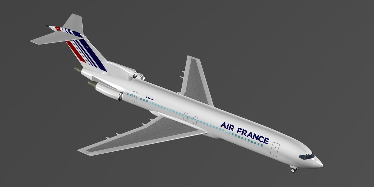 maya air france 727-200 727