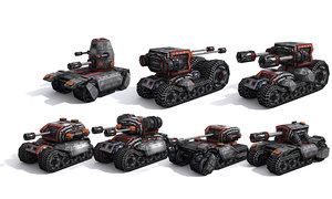 combat tanks set max