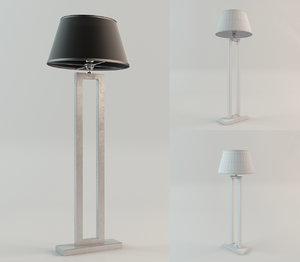 eichholtz lamp floor arlington 3d model