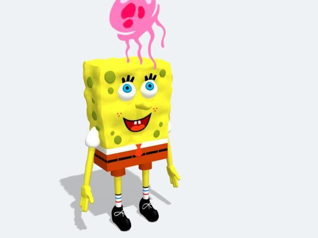 sponge 3d max