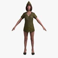 games rigging 3d model