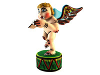3d model kitsch angel sculpture