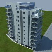 buildings 1 3d obj