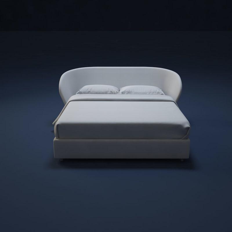 flou bed celine-89 max