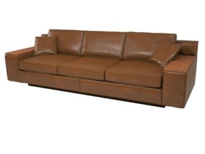 duresta mondrian grand sofa 3d 3ds