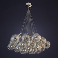3d model lamp alma light drop