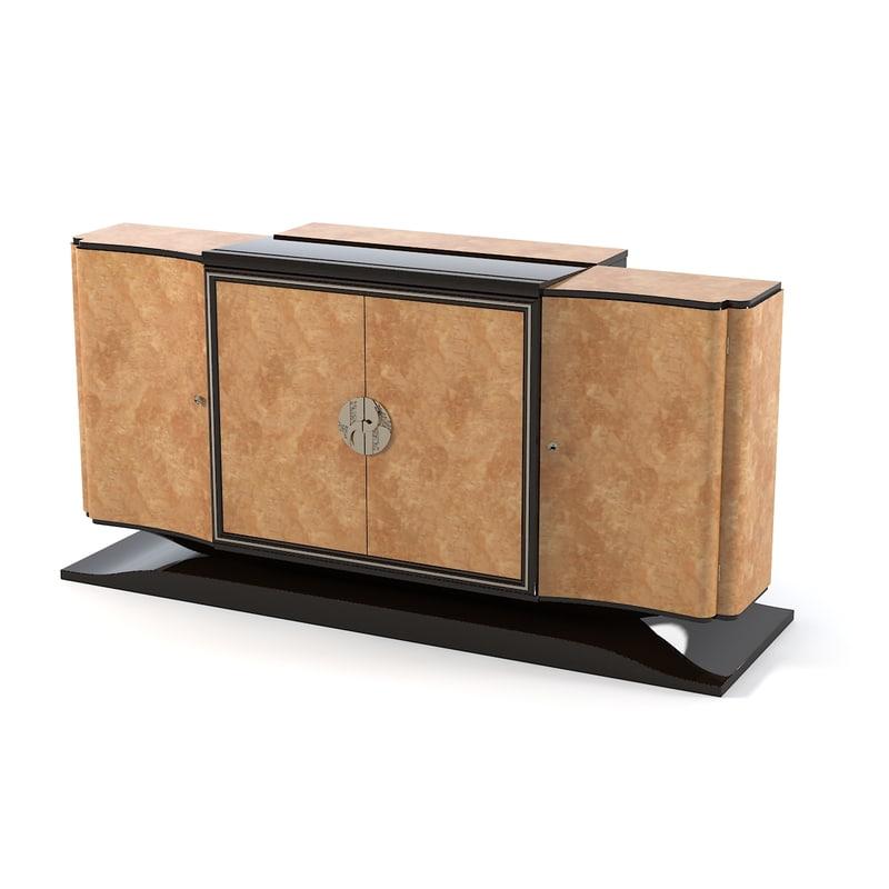 cygal sideboard 3d 3ds