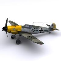 Bf-109 F1 JG51 - Werner Molders