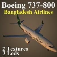boeing 737-800 bbc 3d max