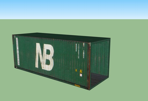 3d cost cargo container