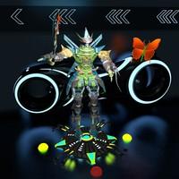 Godern - robot warrior