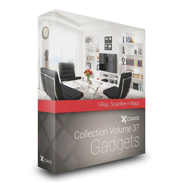 3d model volume 37 gadgets