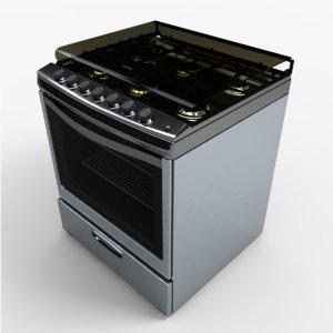 wf7650s stove 3d model