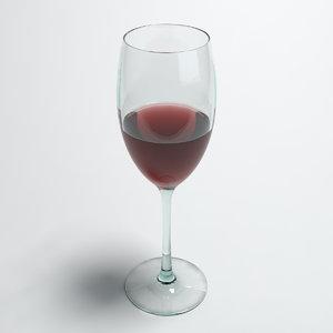 max wine v-ray glass
