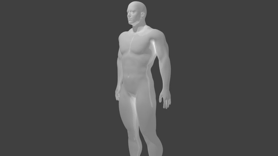 3d model human ged