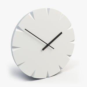 ikea vattna wall clock 3d max