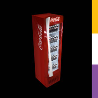 3ds drinks fridge coca-cola tr