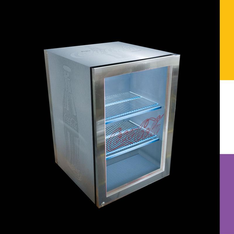 max drinks fridge coca-cola