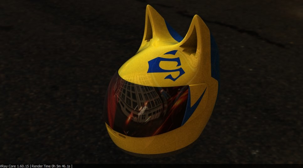 celty helmet 3d 3ds