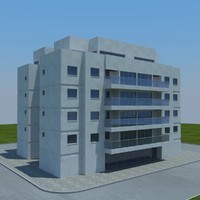 3d model buildings 2