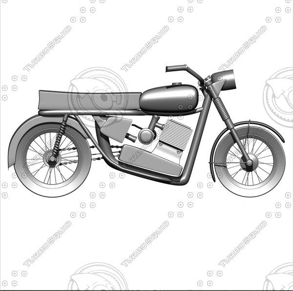 3d toy bike model