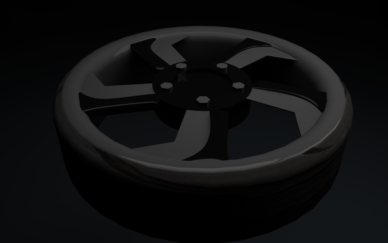 cinema4d wheel tire