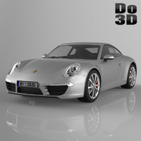 3d model porsche 911 carrera
