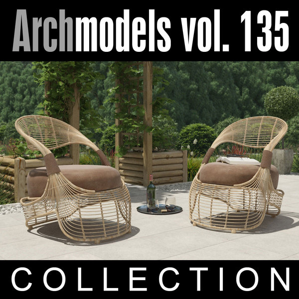 max archmodels vol 135 outdoor furniture