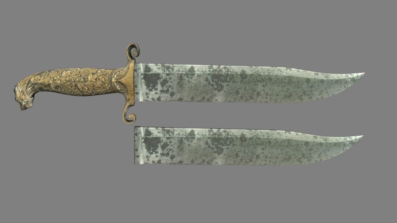 antique knife blade max