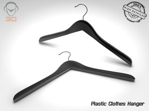 plastic clothes hanger 3d 3ds