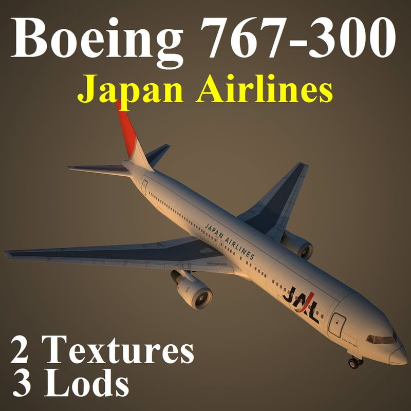 boeing 767-300 jal max