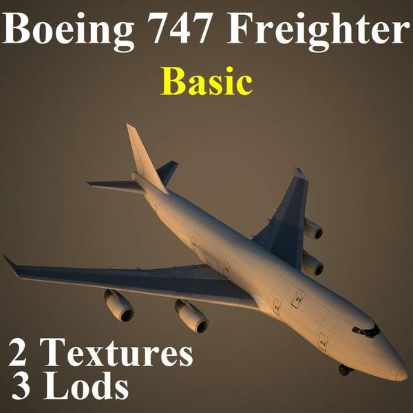 max boeing 747 basic aircraft