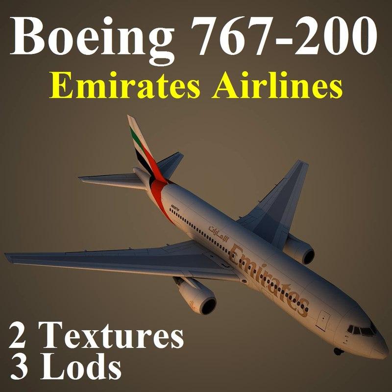 boeing 767-200 uae max