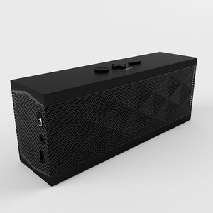jambox jawbone 3d model