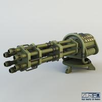machine gun ciz max