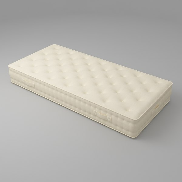 mattress furniture 3d obj