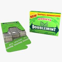 Pack of Gum Doublemint