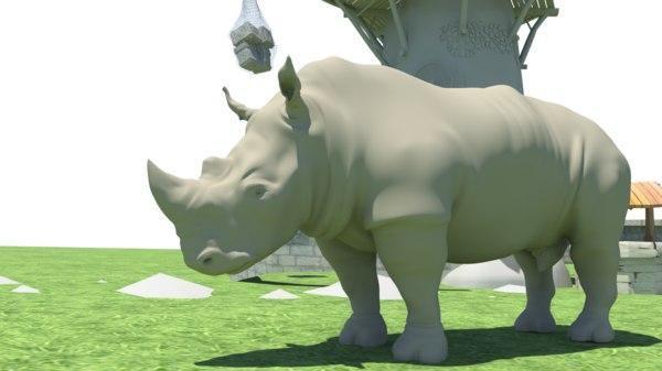 rhino 3d obj