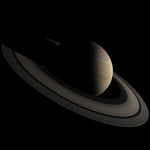 3d photorealistic saturn
